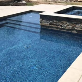 work with a local custom pool builder